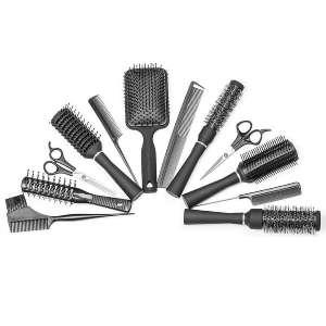 Paquete de peines de peluquería